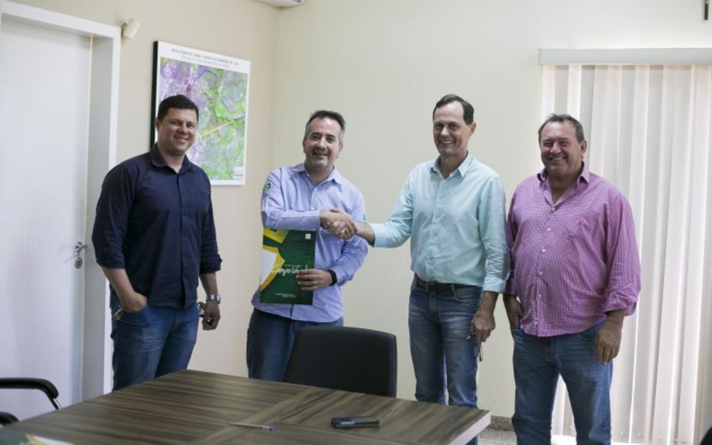 Empresa é beneficiada com área no Distrito Industrial de Campo Verde