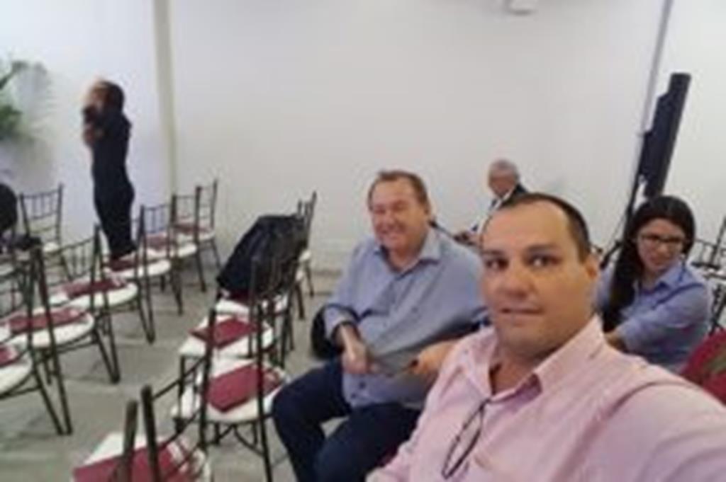 Vice-prefeito e secretário de Obras de Campo Verde participaram do Fórum Ferrovias