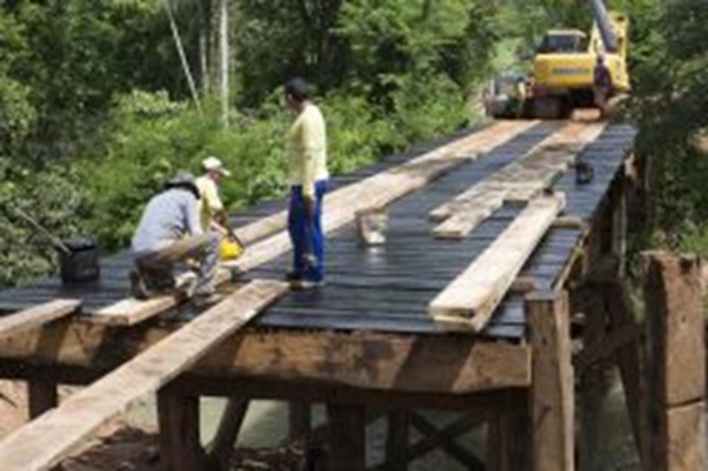 Trafego na ponte do Peraputanga será liberado no próximo sábado