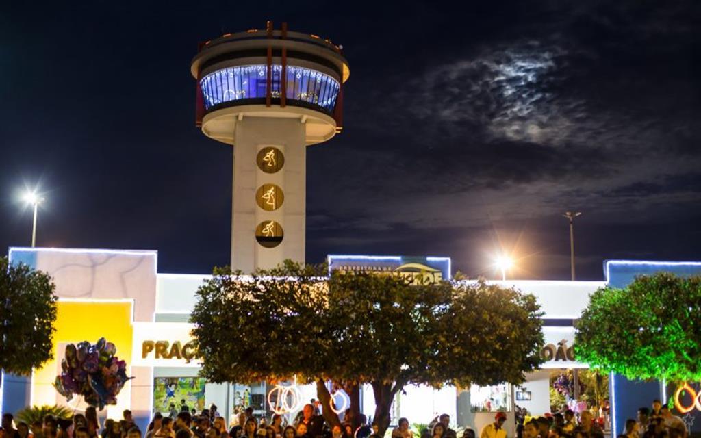 Mirante da Praça João Paulo II ficará aberto de terça a domingo