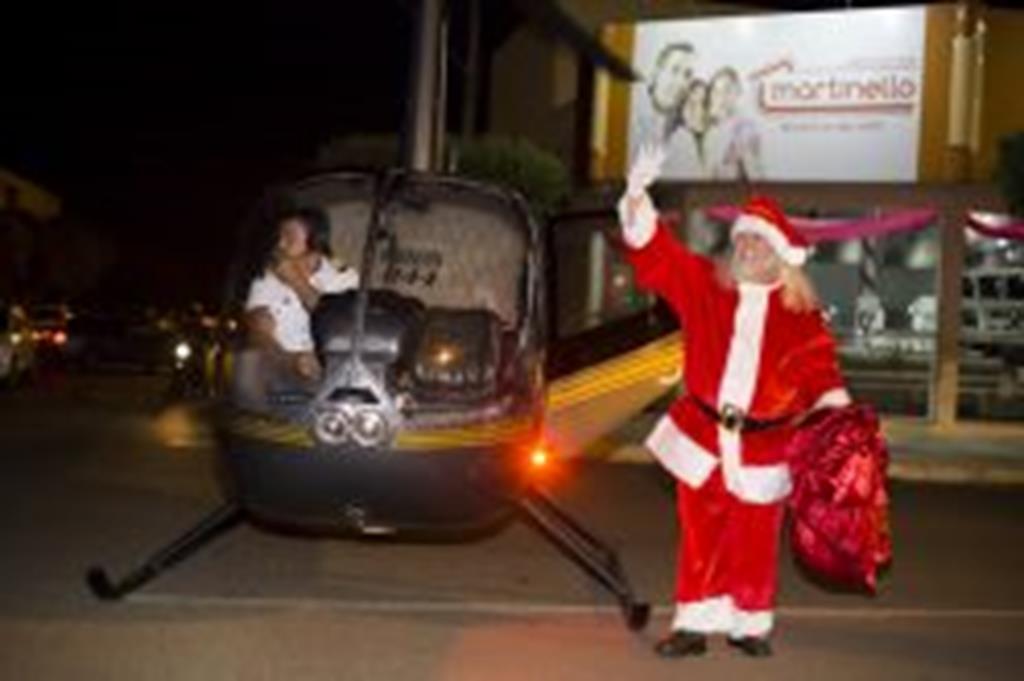 E o Papai Noel Chegou!