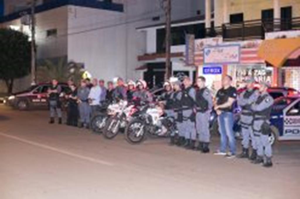 Policiamento será reforçado durante o final do ano em Campo Verde