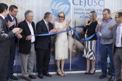 Vice-prefeito Milton Garbugio prestigia inauguração da nova sede do CEJUSC em Campo Verde