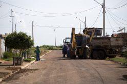 Vigilância Ambiental inicia mutirão de limpeza no Santa Rosa
