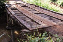 SMOV interdita ponte sobre o rio São Lourenço para reparos