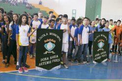 Fase Municipal dos Jogos Escolares da Juventude começa a ser disputada em Campo Verde