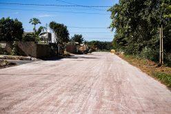 Asfalto é concluído no bairro São Miguel