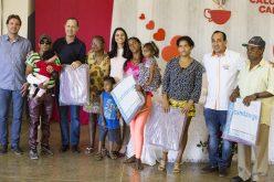 Famílias de Campo Verde recebem cobertores