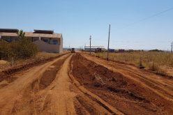 Secretaria de Obras inicia pavimentação da Marechal Rondon