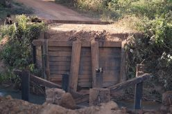Prefeitura de Campo Verde começa a recuperar ponte na estrada da Ponte Alta