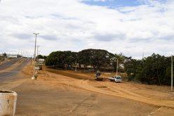 Obras de drenagem são concluídas e reconstrução de aterro é iniciada no Parque das Araras