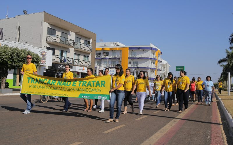 """""""Caminhada pela Vida"""" marca o """"Dia Internacional de Prevenção do Suicídio"""" em Campo Verde"""