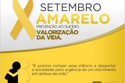 Setembro Amarelo: Saúde promove campanha de prevenção ao suicídio