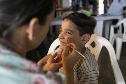 """Sicoob e CRAS proporcionam diversão e lazer à crianças e adultos no """"Dia C"""""""