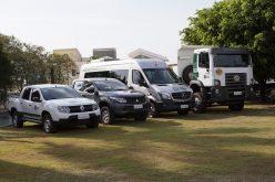 Administração Municipal entrega veículos a secretarias de Obras e de Saúde