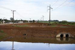 Sistema de contenção construído pela SMOV resiste bem a grande volume de chuva