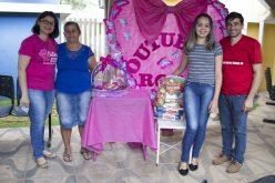 PSF´s Recanto do Bosque e Jupiara entregam prêmios do Outubro Rosa