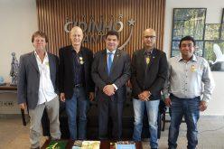 Prefeito Fábio e vereadores cumprem agenda em Brasília