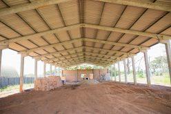 Barracão multiuso do Santo Antônio da Fartura deve ser concluído em dezembro