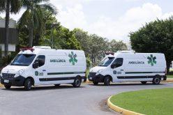 Ambulâncias serão entregues à Secretaria de Saúde nesta quarta-feira