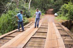 Prefeitura de Campo Verde investe na construção de ponte de concreto