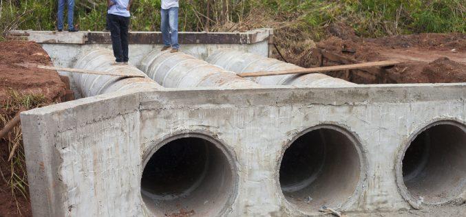 Prefeitura construirá bueiro no córrego Ponte Falsa
