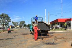 Secretaria de Obras vai recuperar ruas com tapa-buracos e lama asfáltica