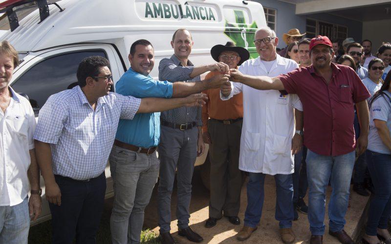 Assentamento Dom Osório é contemplado com ambulância pela Administração Municipal