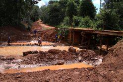 Ponte de concreto começa a ser construída no Rio São Lourenço