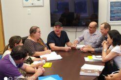 Prefeito, secretária, assessora pedagógica e diretores de Campo Verde apresentam demandas à secretária estadual de Educação