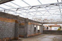 Retomadas em novembro, construção da creche do Jardim América/Santa Rosa segue em ritmo normal