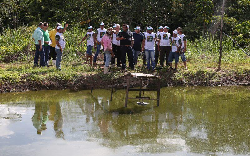 Piscicultura anima pequenos produtores do Santo Antônio da Fartura