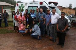 Lideranças destacam trabalho da Secretaria de Saúde na viabilização de ambulâncias para comunidades rurais