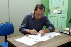Novos conselheiros do Previverde são empossados pelo prefeito Fábio Schroeter