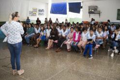 Escola Municipal Dona Maria Artemir Pires abre atividades da Olimpíadas de Língua Portuguesa