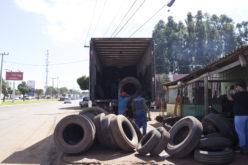 Recolhimento de pneus contribui com o meio ambiente e com a saúde em Campo Verde