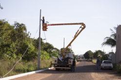 SMOV conclui implantação de iluminação pública na Avenida Araras e na Rua Flamingo