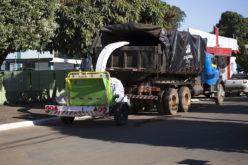 Prefeitura incrementa serviço de recolhimento de galhos e folhas