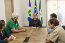 Presidente da Aprosoja/MT visita prefeito Fábio em busca de apoio para a extinção do Fethab Milho