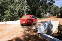 Ponte sobre o rio São Lourenço tem o tráfego liberado