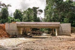Ponte sobre o Rio São Lourenço terá o tráfego liberado na próxima sexta-feira