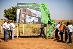 Lançadas obras de construção do portal de entrada de Campo Verde