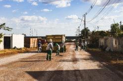 Secretaria de Obras finaliza pavimentação e drenagem nas ruas Chapecó e Blumenau
