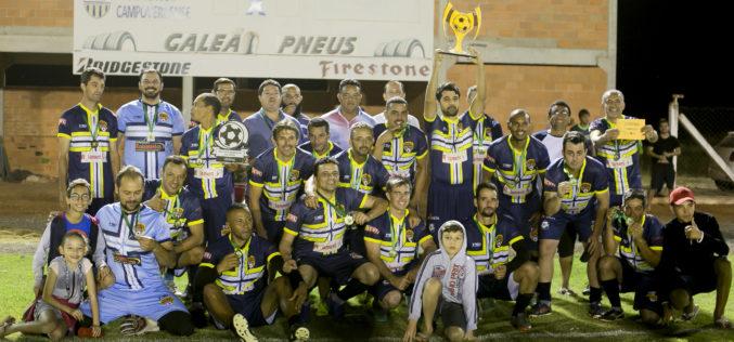 """De virada, """"Amigos da Bola"""" vence o Cruzeirinho e fica com o título da II Copa Master"""
