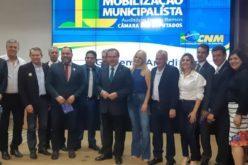 Prefeito Fábio participa da Mobilização Municipalista em Brasília