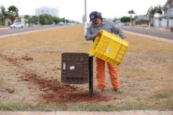 Prefeitura vai instalar 160 lixeiras em ruas, parques e praças da cidade