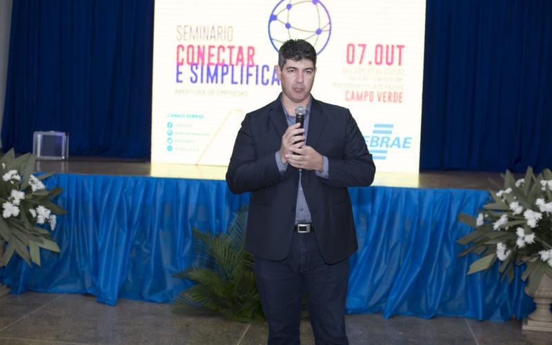 Gerente do Sebrae/MT destaca políticas de incentivo ao empreendedorismo desenvolvidas pela Administração de Campo Verde