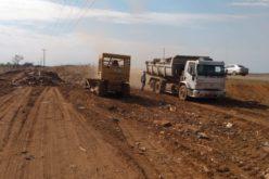 Secretaria de Obras recupera margens da MT-140