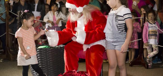 Com show de Nico e Lau e apresentações culturais, Papai Noel chega neste sábado à Campo Verde
