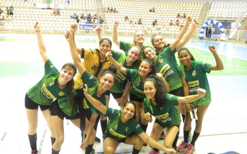 Handebol feminino de Campo Verde é campeão dos Jogos Abertos Mato-grossense